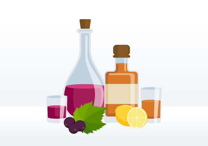 Bouteille Decanter Free Vector