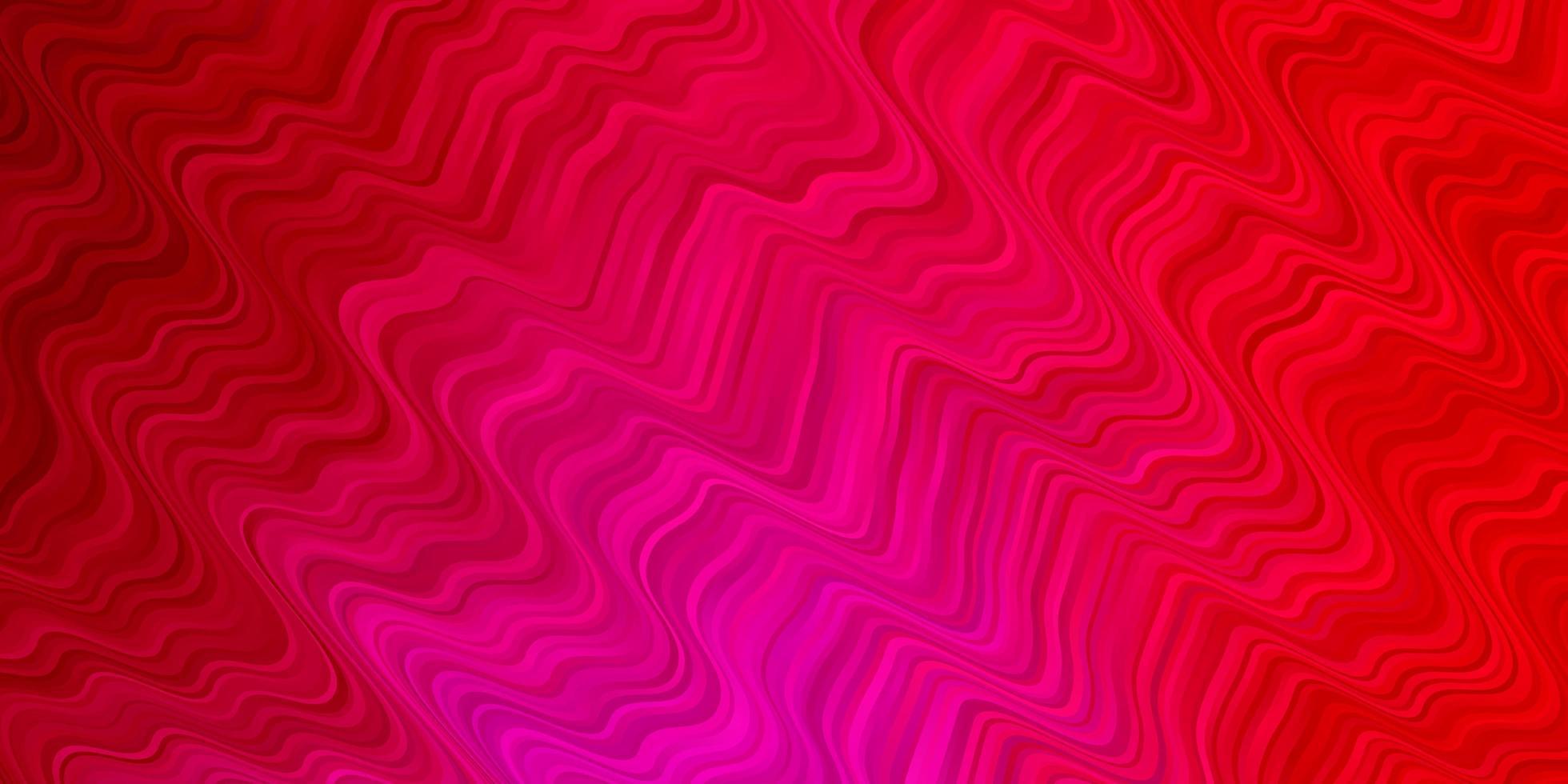 modèle rouge avec des lignes courbes. vecteur