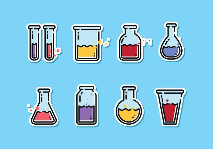 Pack vecteur Science Beaker