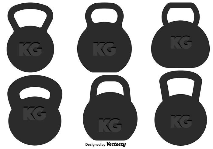 Set de cloche de bouilloire Vector
