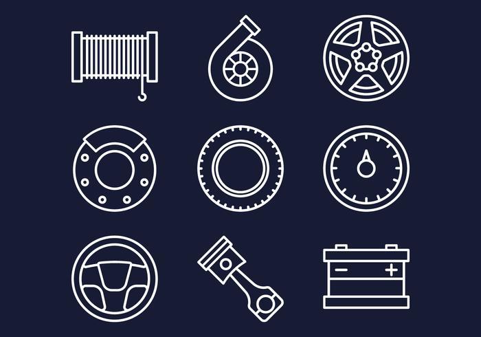 ensemble d'icônes web de la boutique en ligne vecteur