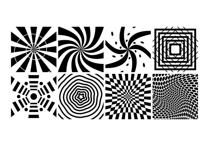 Vecteur de spirale d'hypnose libre