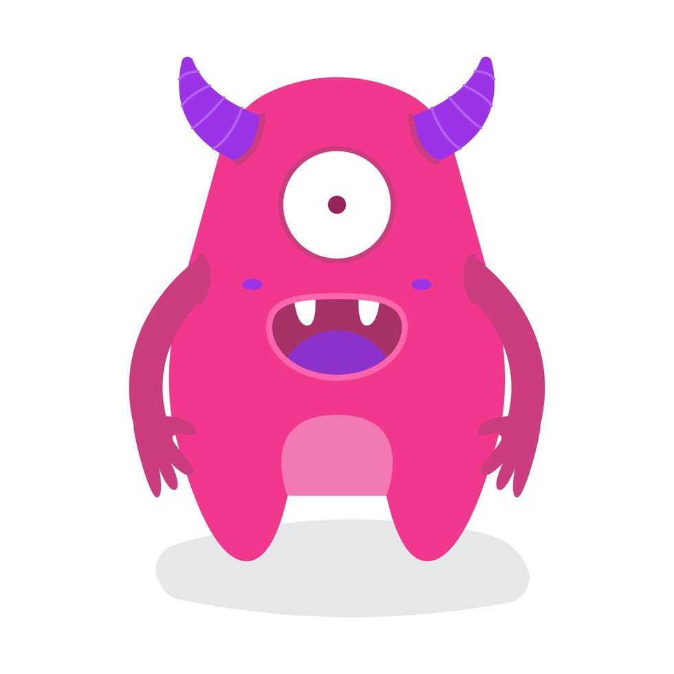 Monstre D Halloween Drole Mignon Petit œil Telecharger Vectoriel Gratuit Clipart Graphique Vecteur Dessins Et Pictogramme Gratuit