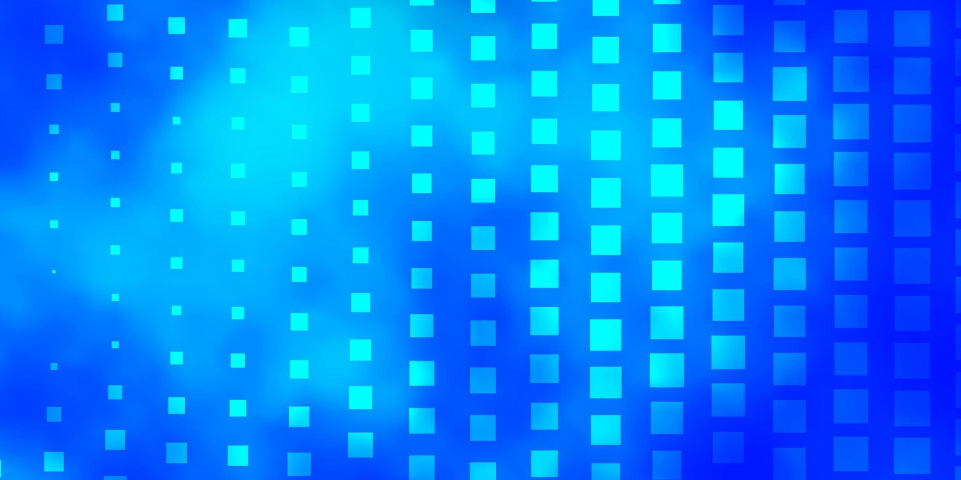 fond bleu avec des rectangles. vecteur