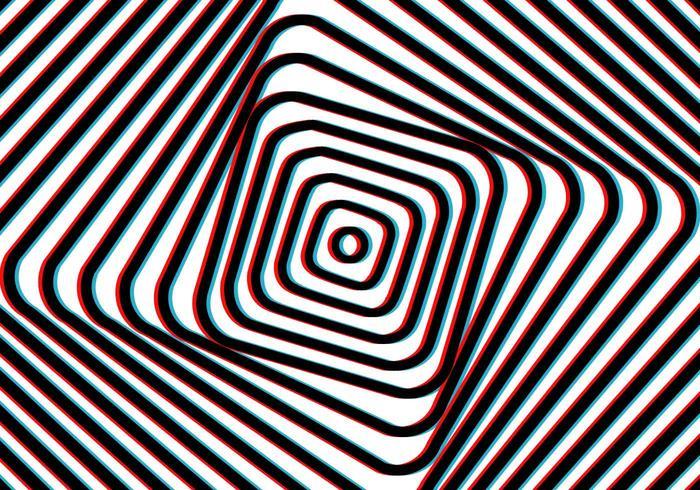 Fond d'illusion d'art de vertige vecteur