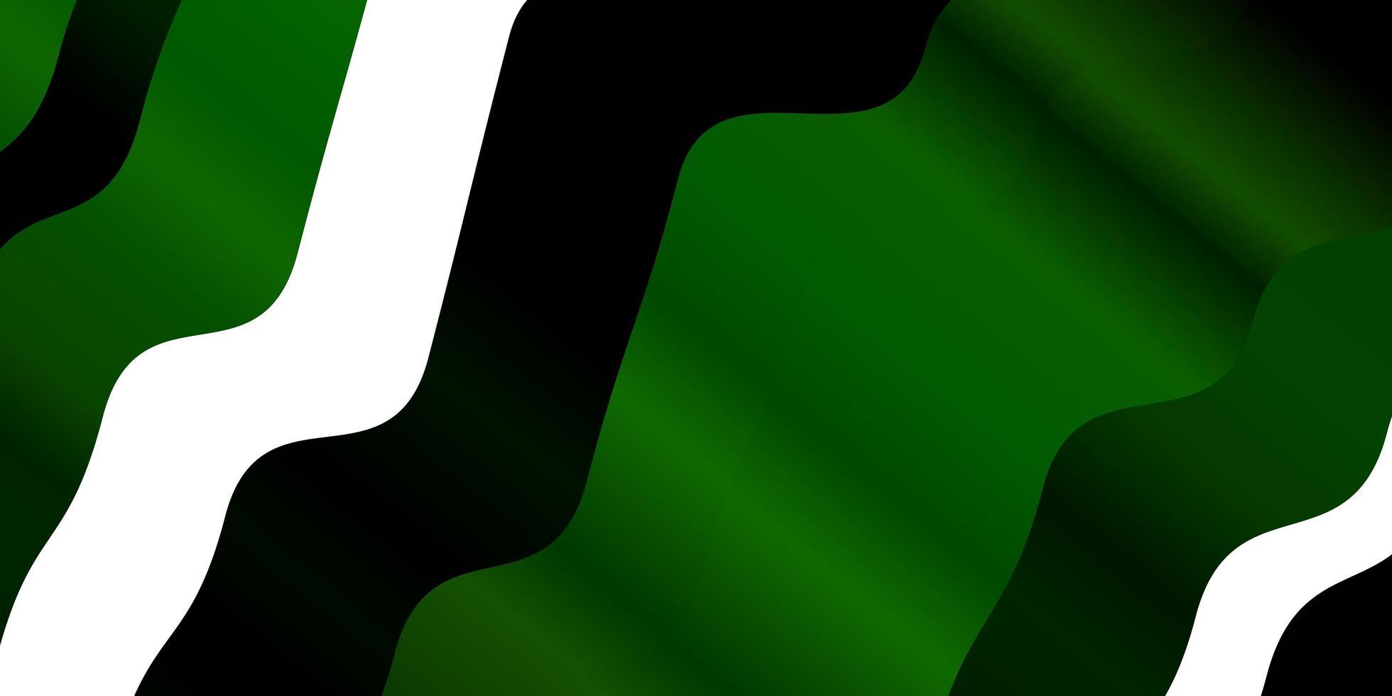 fond vert clair avec des lignes ironiques. vecteur