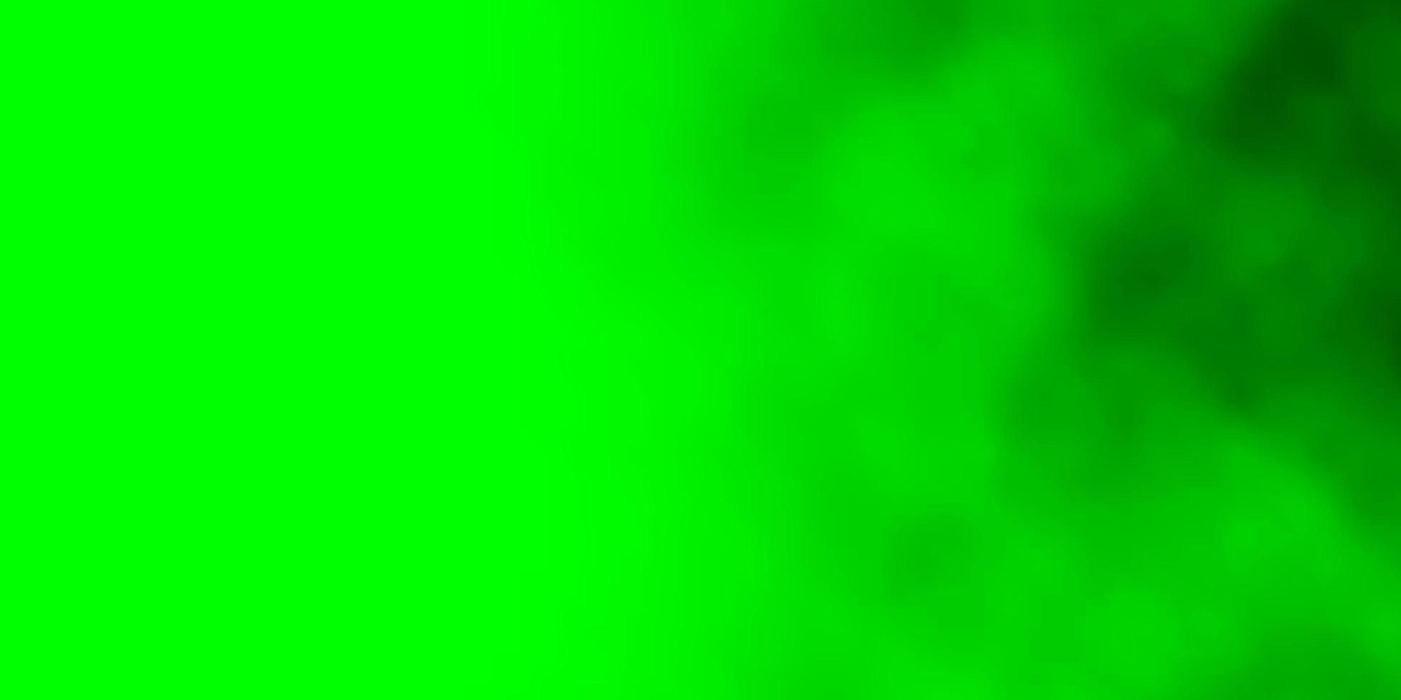 motif vert clair avec des nuages. vecteur