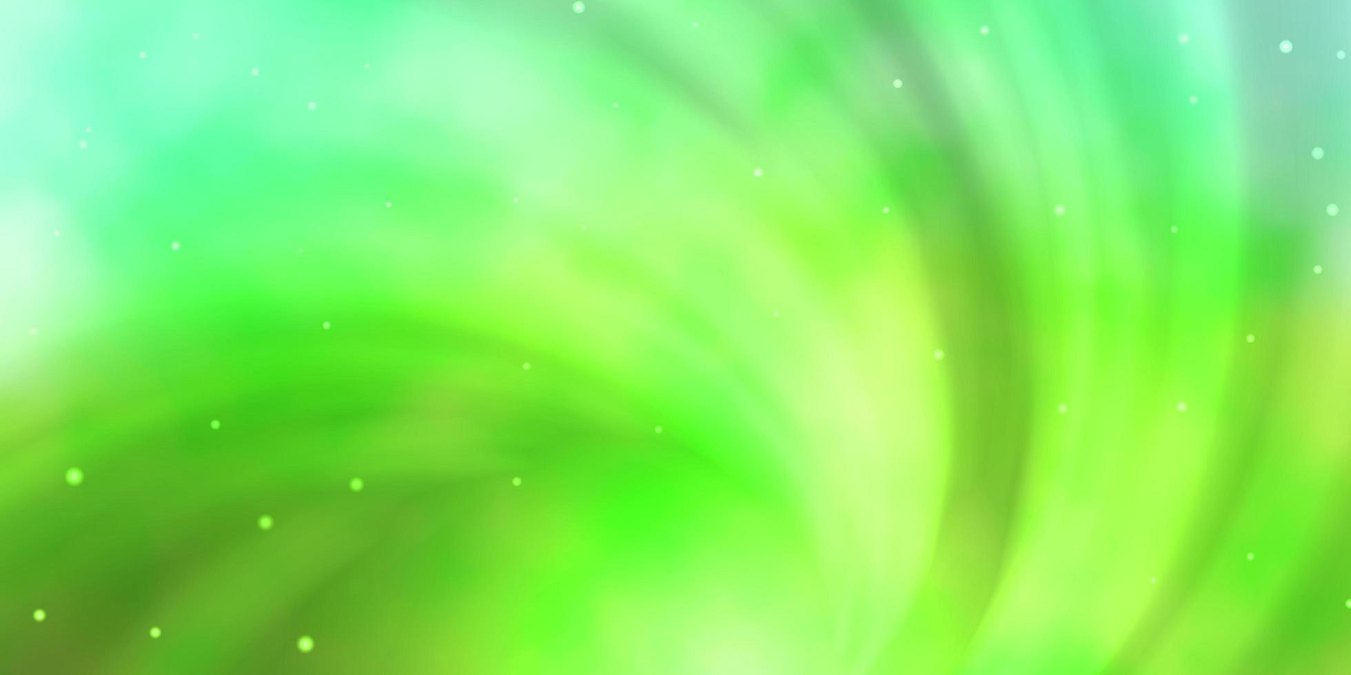 texture vert clair avec de belles étoiles. vecteur