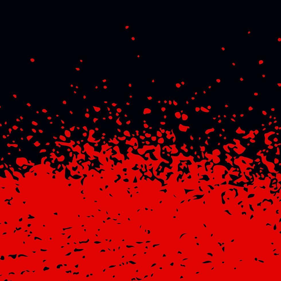 fond de texture abstraite grunge rouge sanglant vecteur