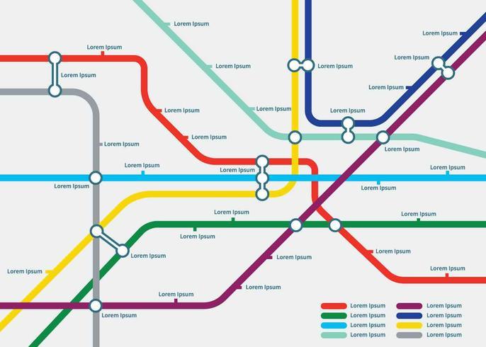 Illustration de modèle gratuit carte Tube vecteur
