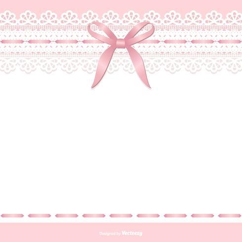 Modèle de mariage belle jarretière de mariée vecteur