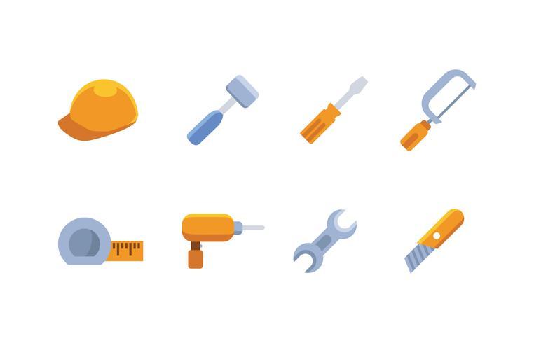 Jeu d'icônes d'outils vecteur