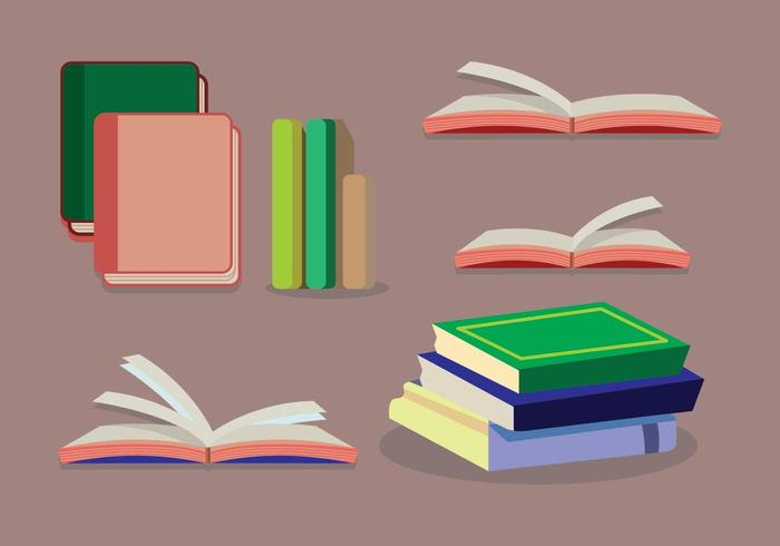 Élément de vecteur de Libro