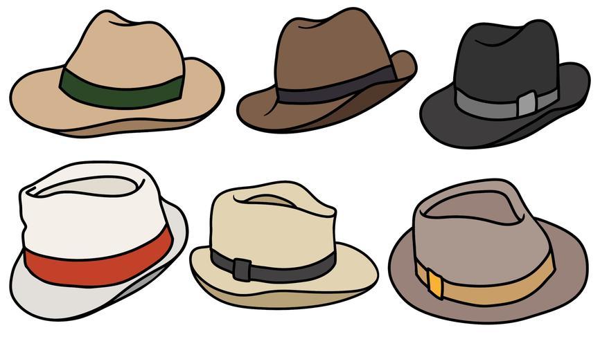 Vector Set d'icônes de Panama