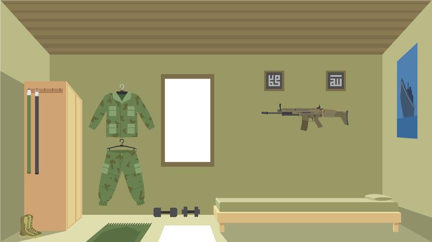 Navy Seals Room vecteur libre