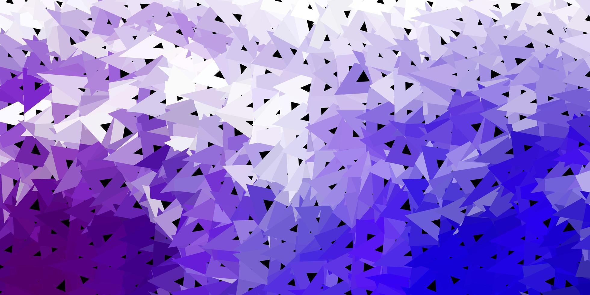 fond de triangle abstrait bleu foncé. vecteur