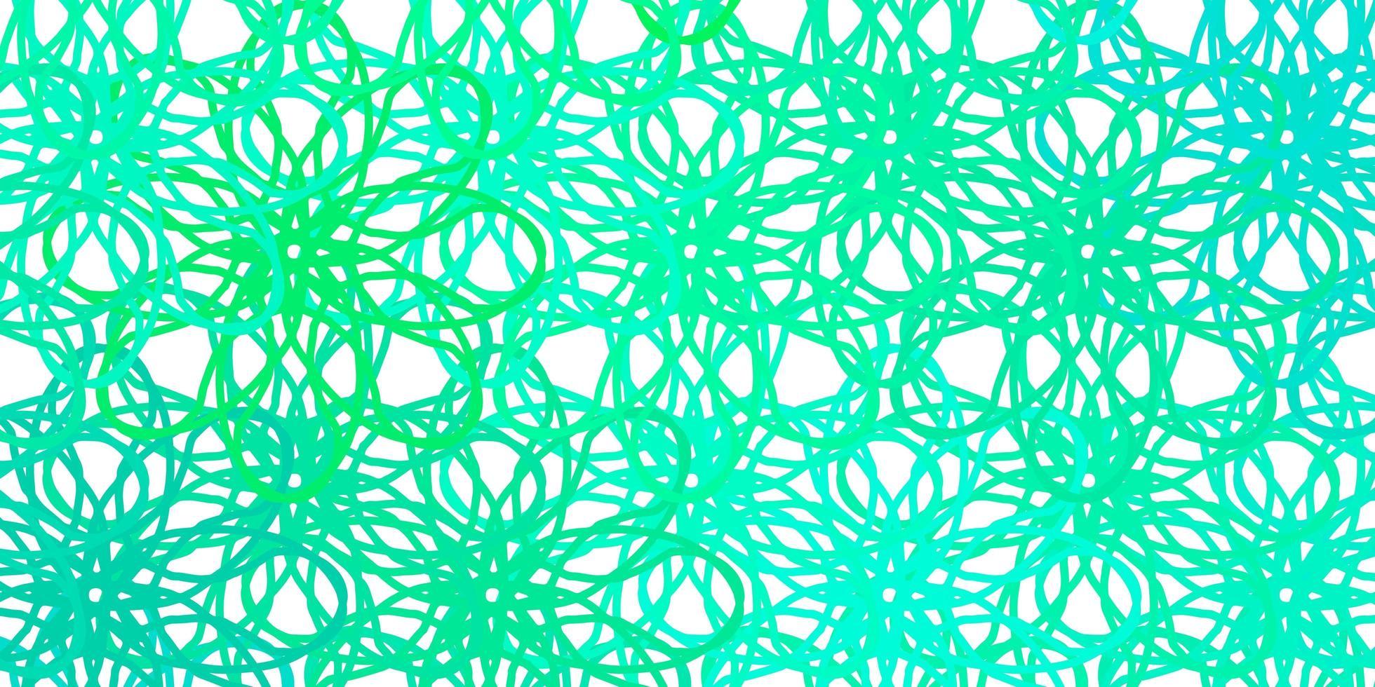 texture vert clair avec des courbes. vecteur