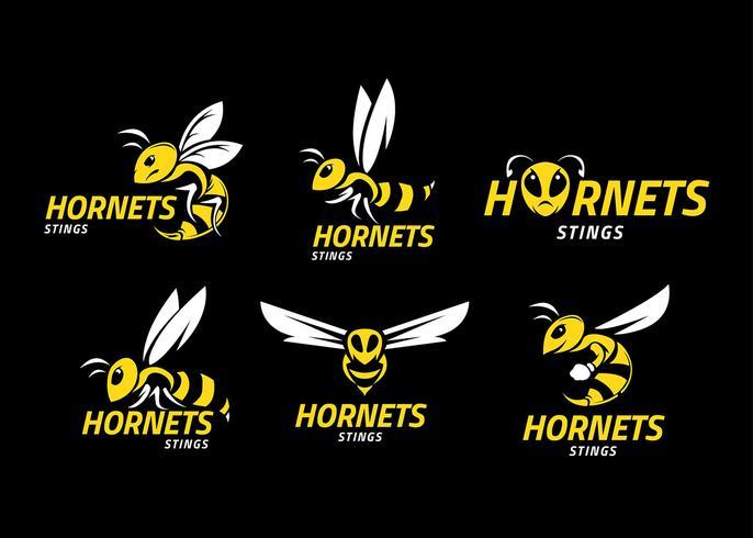 Hornet Logos vecteur libre