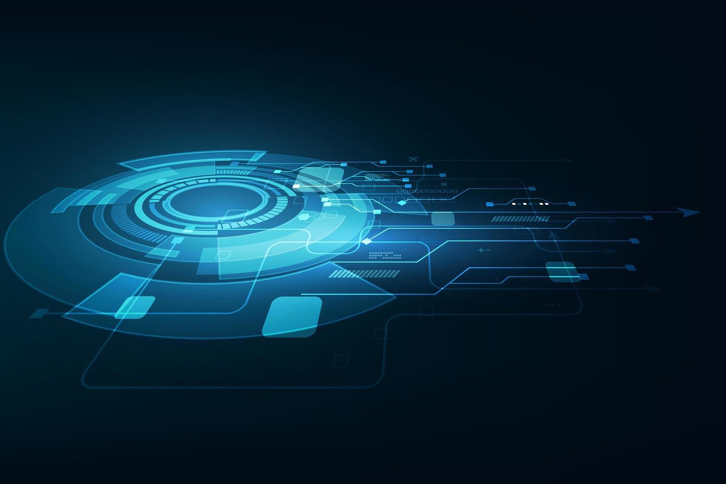 technologie future abstraite de vecteur, fond de télécommunications électriques vecteur