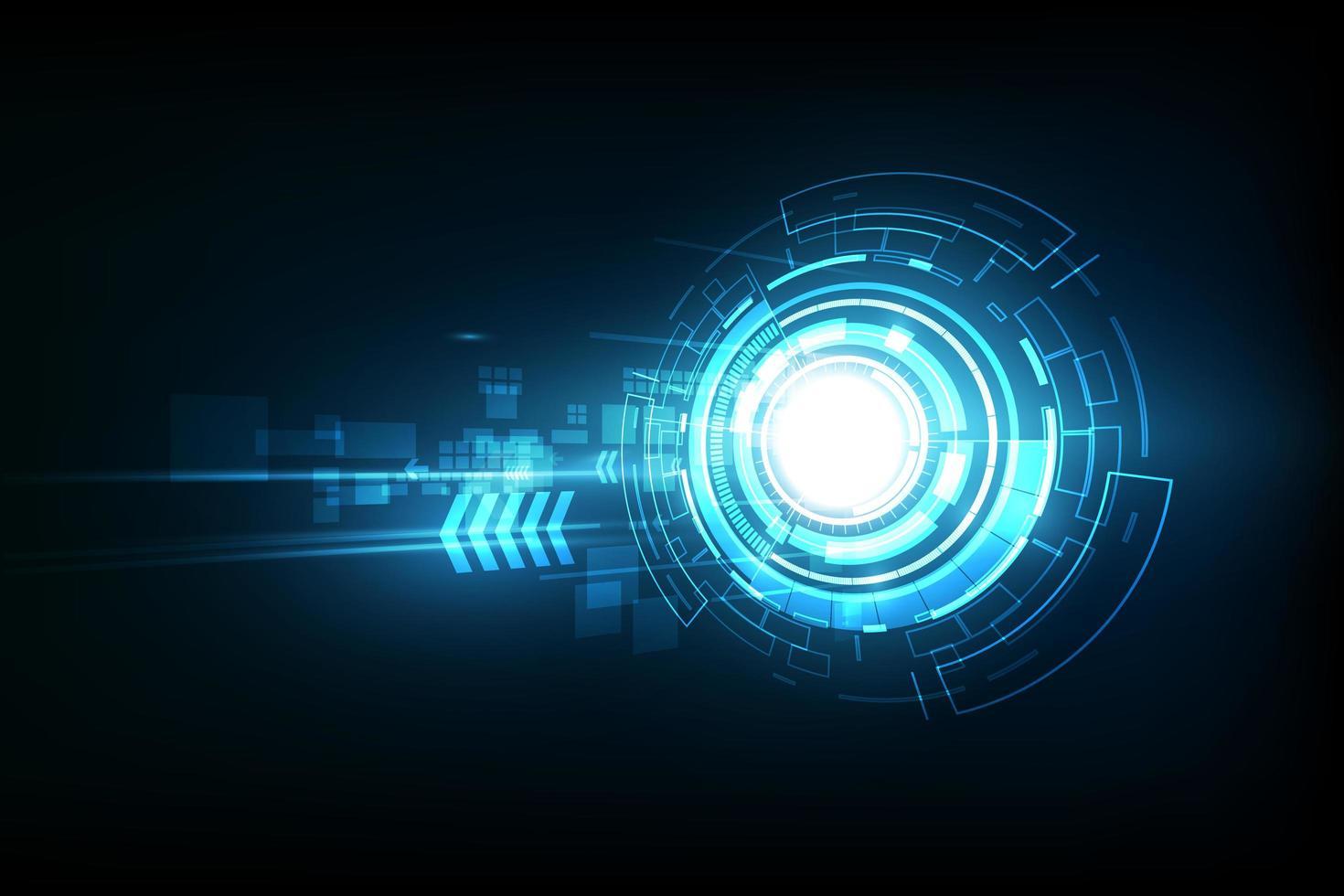 technologie future abstraite, fond de télécommunications électriques vecteur