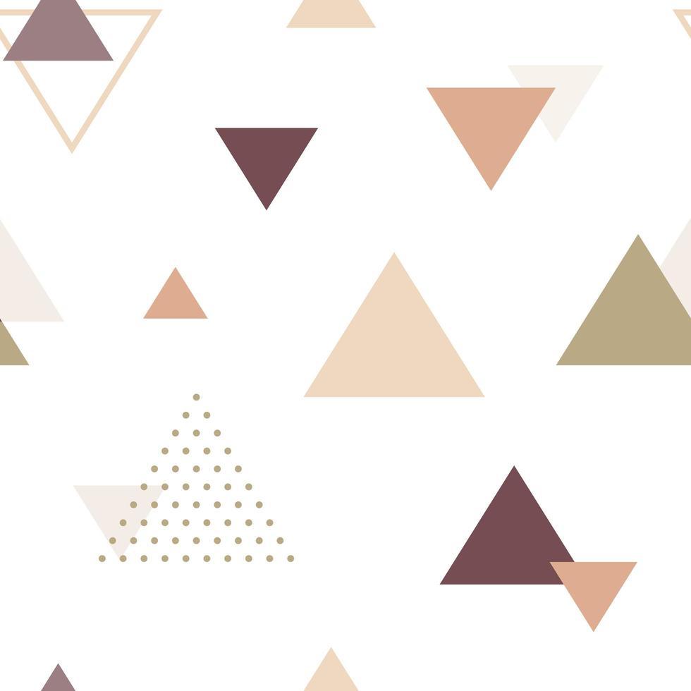 motif sans soudure géométrique abstrait. vecteur