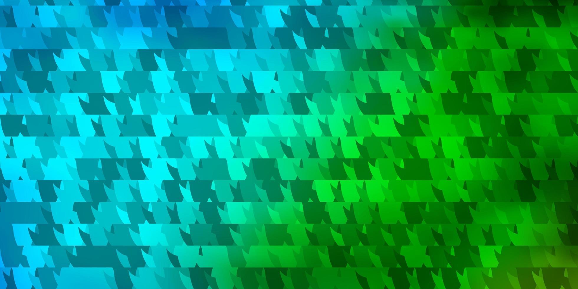 fond de vecteur bleu clair, vert avec un style polygonal.