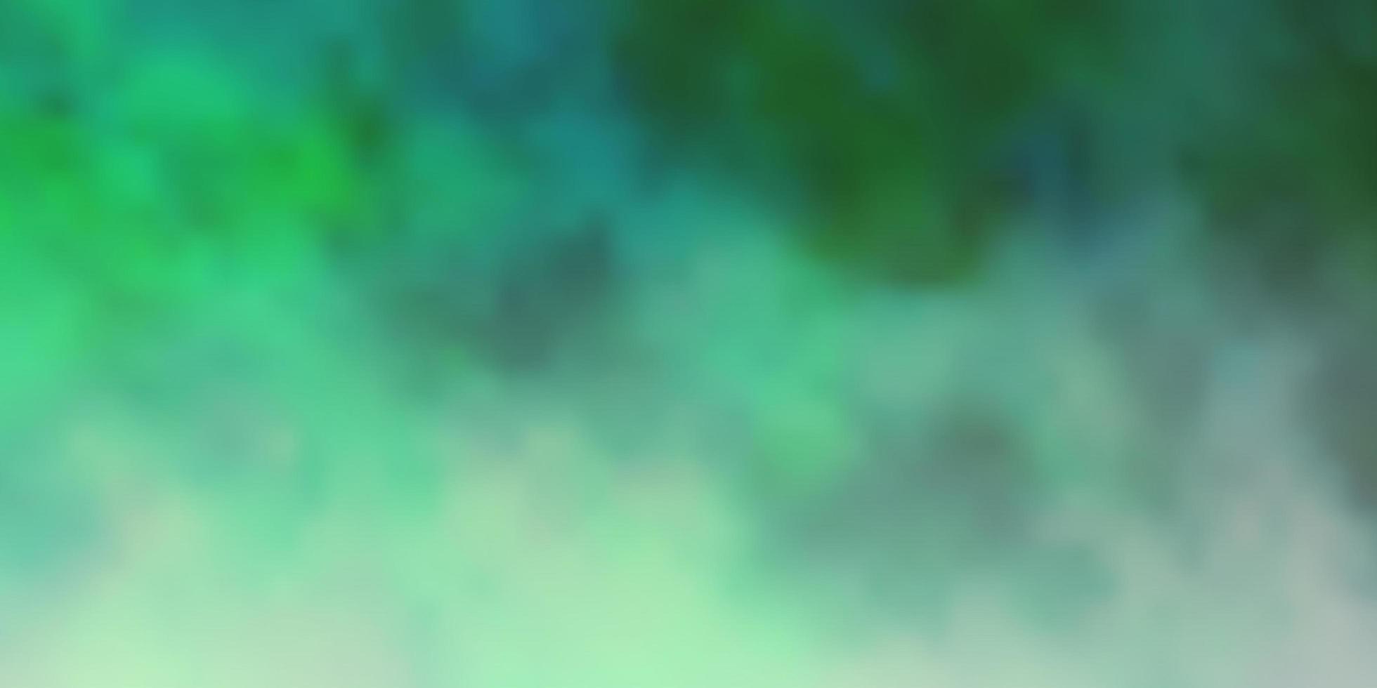 fond de vecteur vert clair avec des nuages.