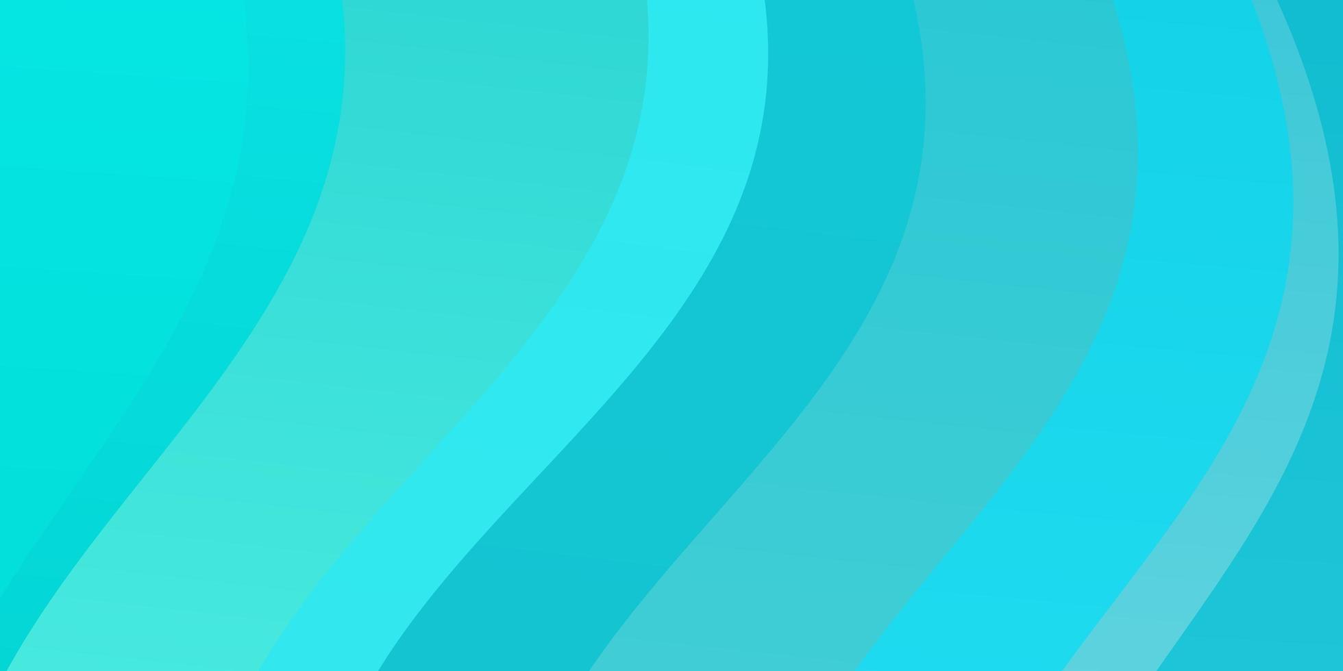 modèle vectoriel bleu clair, vert avec des lignes tordues.