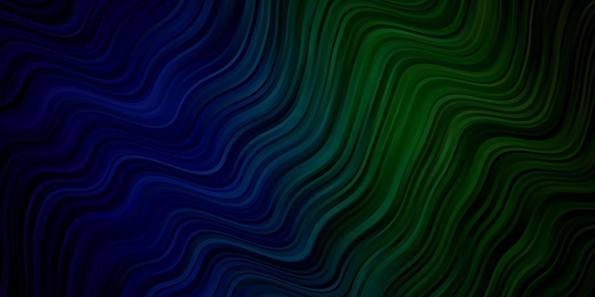 fond de vecteur bleu clair, vert avec des lignes pliées.