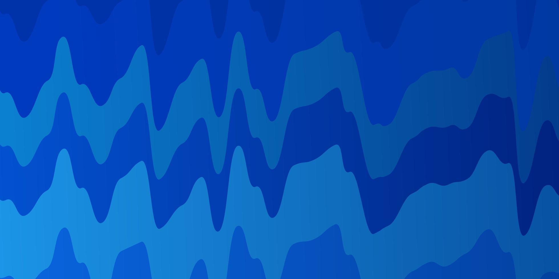 texture de vecteur bleu clair avec des lignes ironiques.