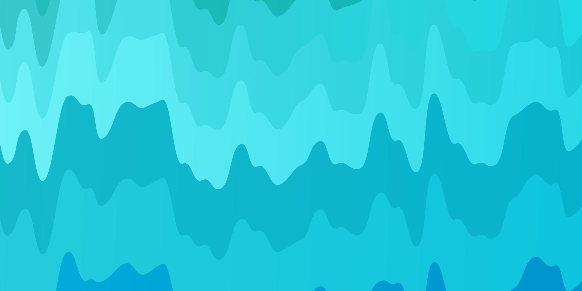 modèle vectoriel bleu clair, vert avec des courbes.