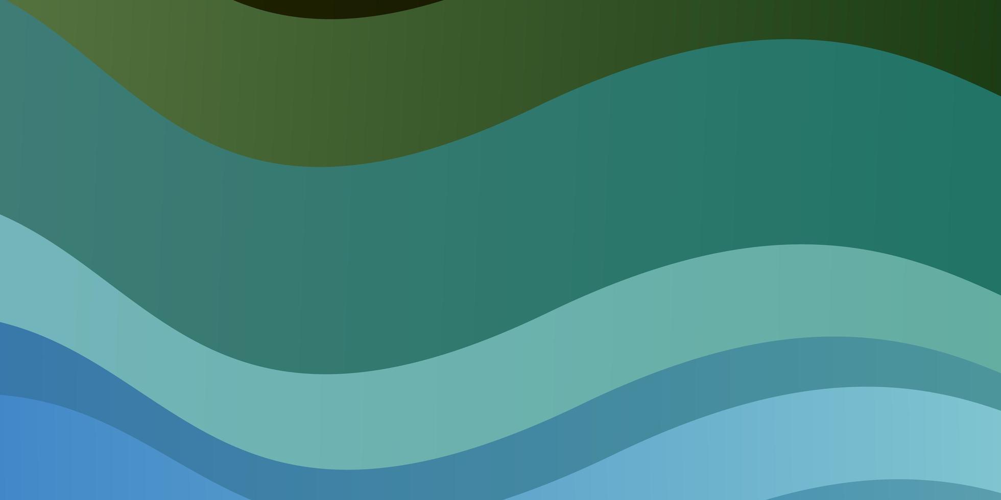 texture de vecteur bleu clair, vert avec arc circulaire.