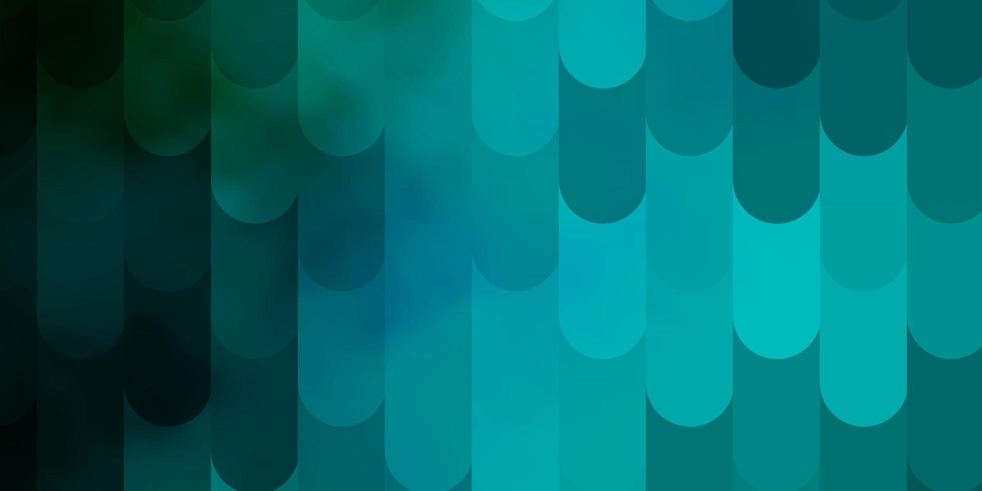 texture de vecteur bleu clair, vert avec des lignes.