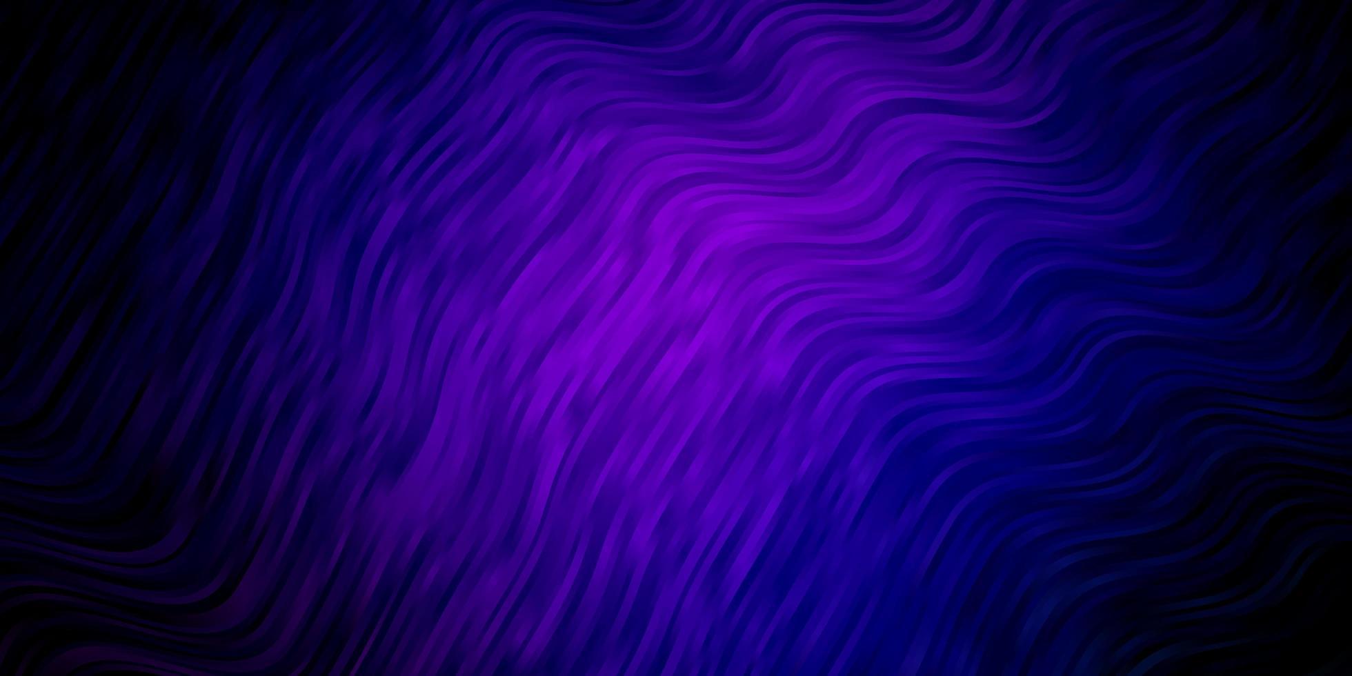 modèle vectoriel rose foncé, bleu avec des lignes ironiques.
