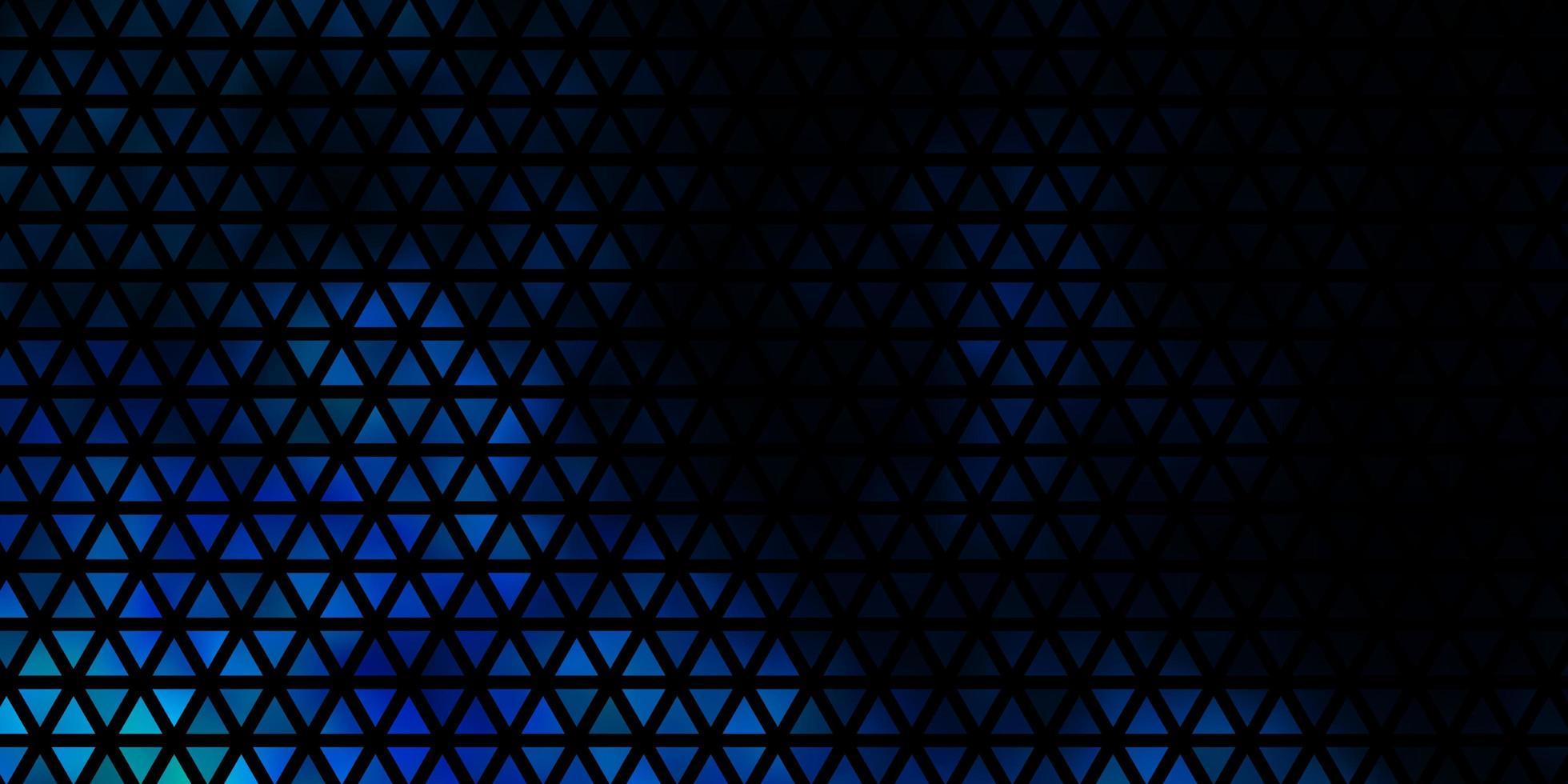 modèle vectoriel bleu clair avec un style polygonal.