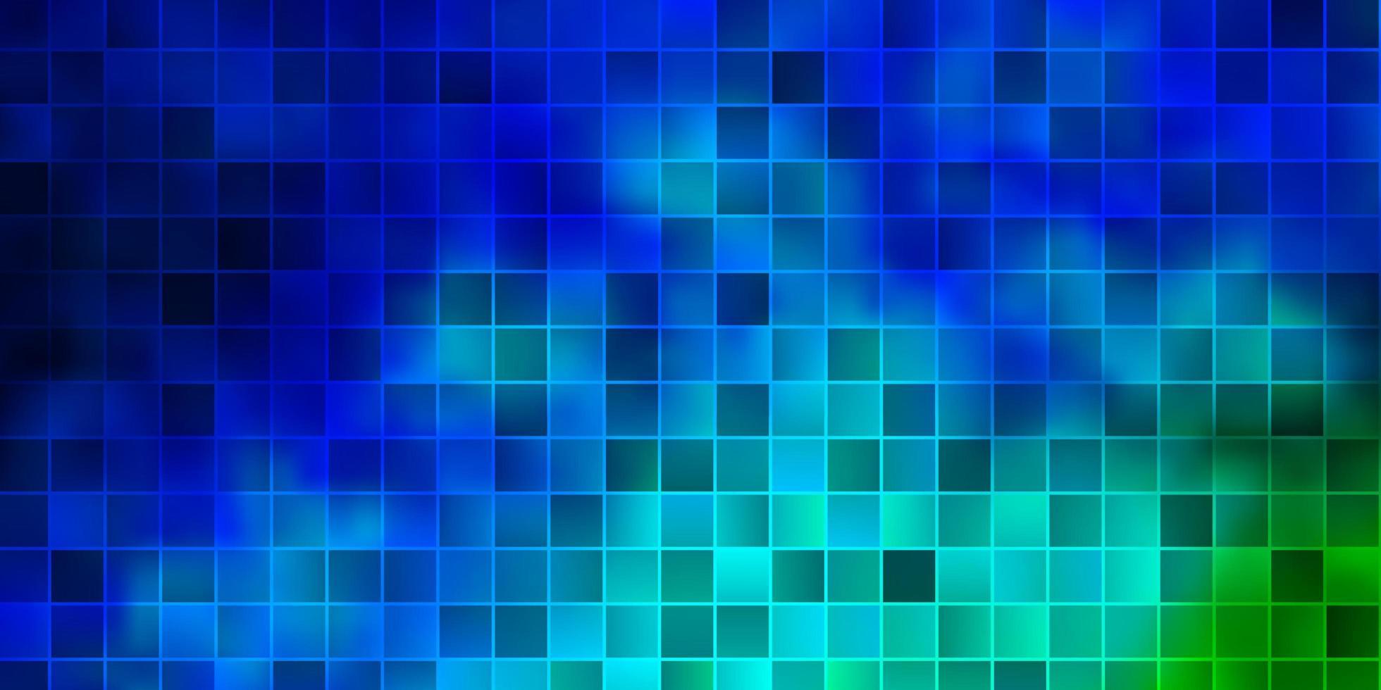 toile de fond de vecteur bleu clair et vert avec des rectangles.