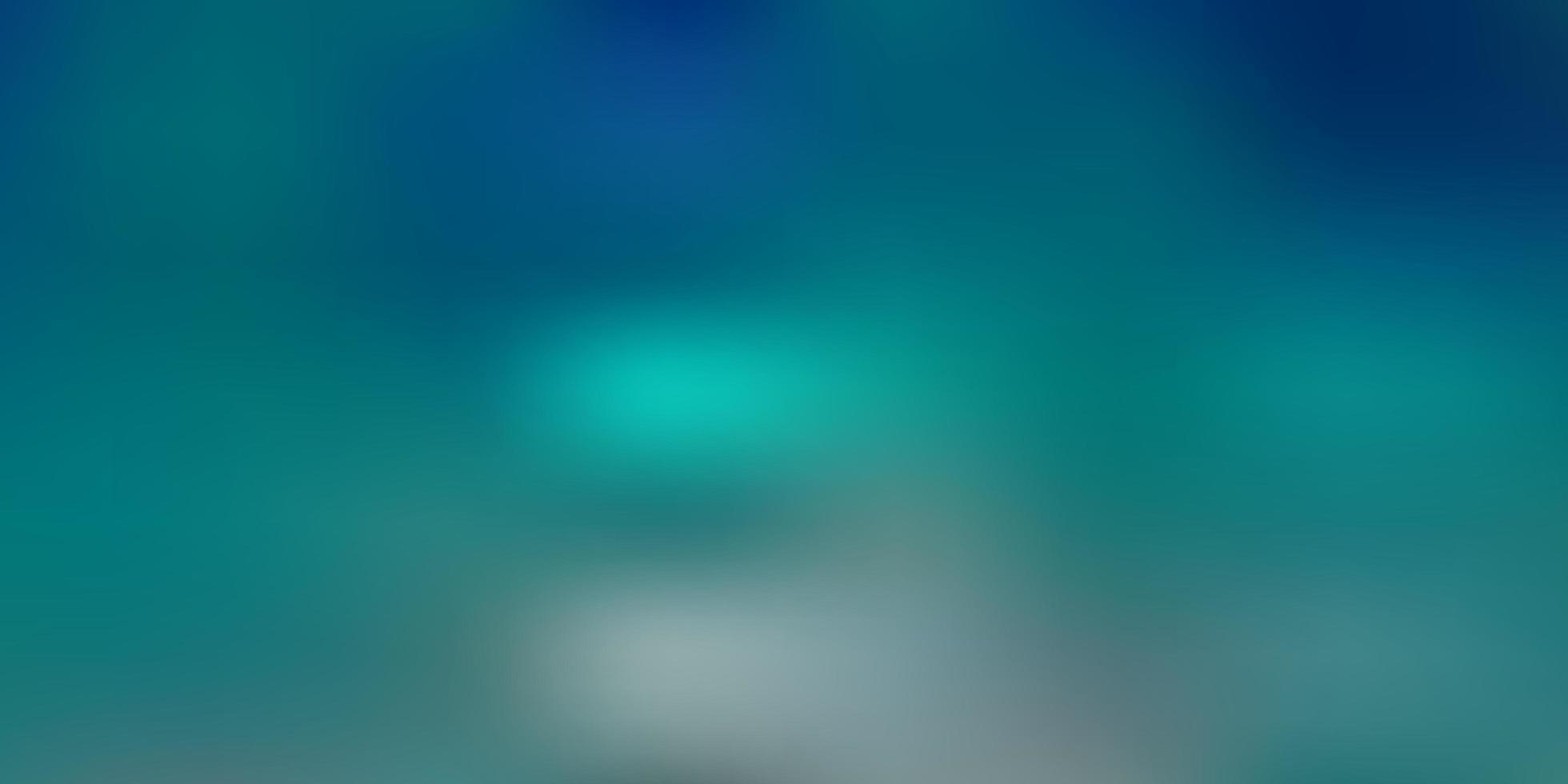 texture floue de vecteur bleu clair, vert.