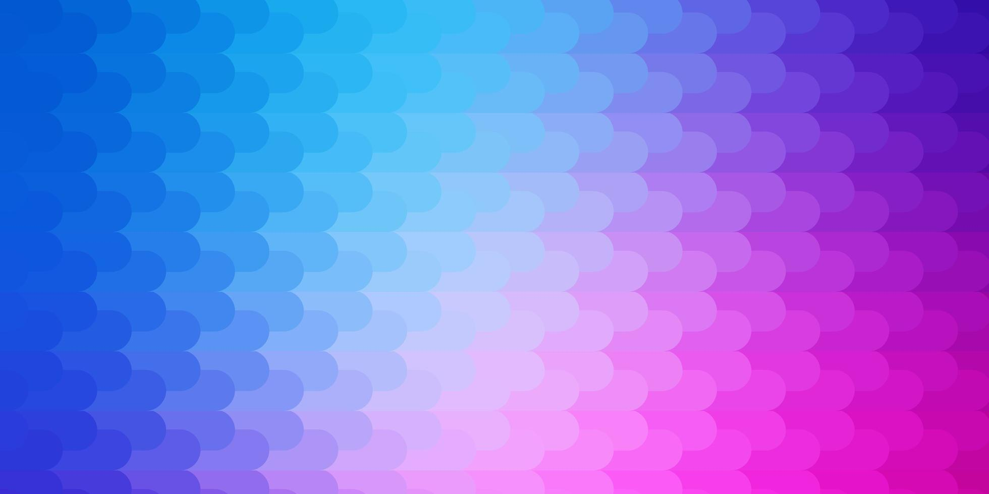 toile de fond de vecteur rose clair, bleu avec des lignes.