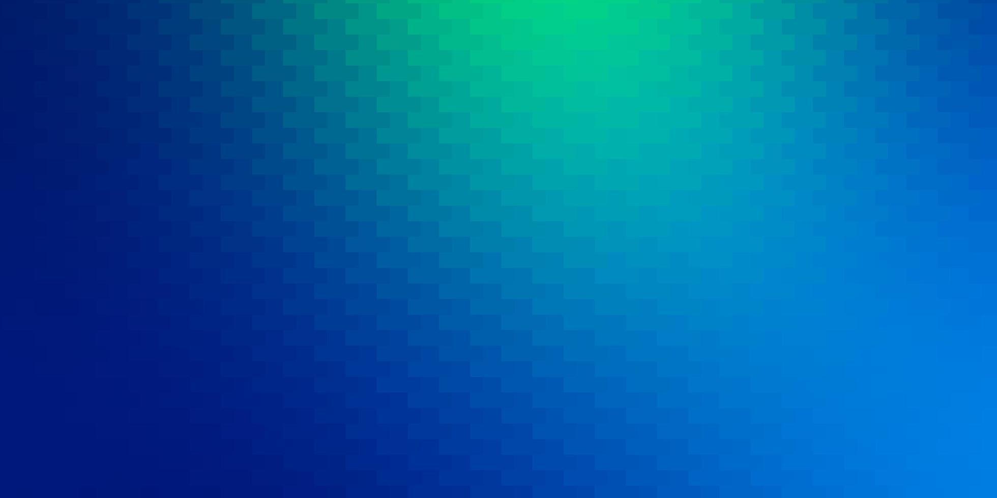disposition de vecteur bleu clair, vert avec des lignes, des rectangles.