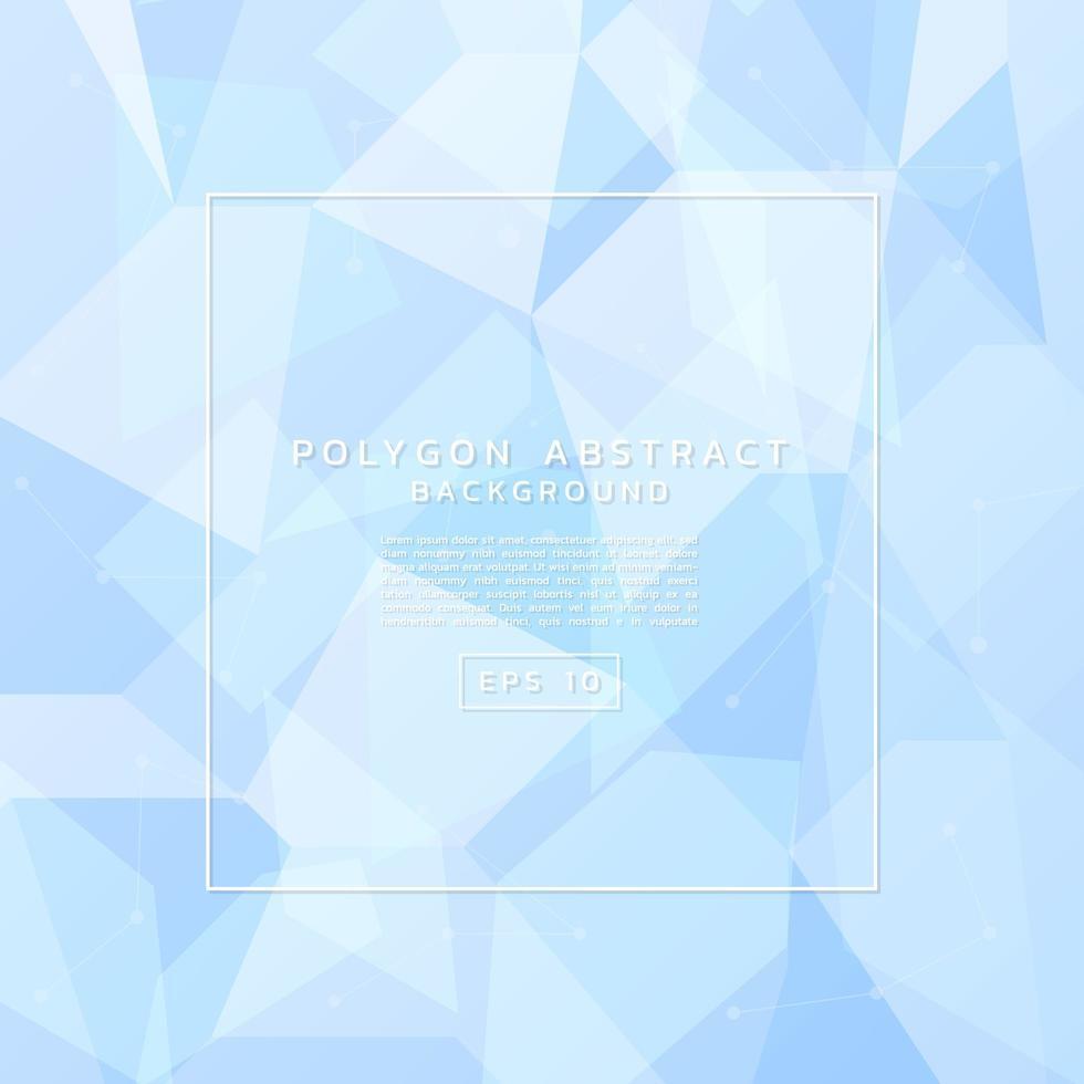 abstrait de polygone vecteur