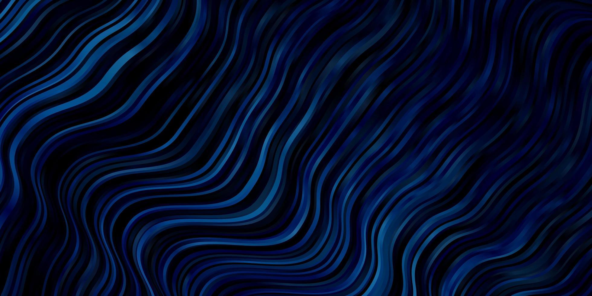 modèle vectoriel bleu clair avec des courbes.