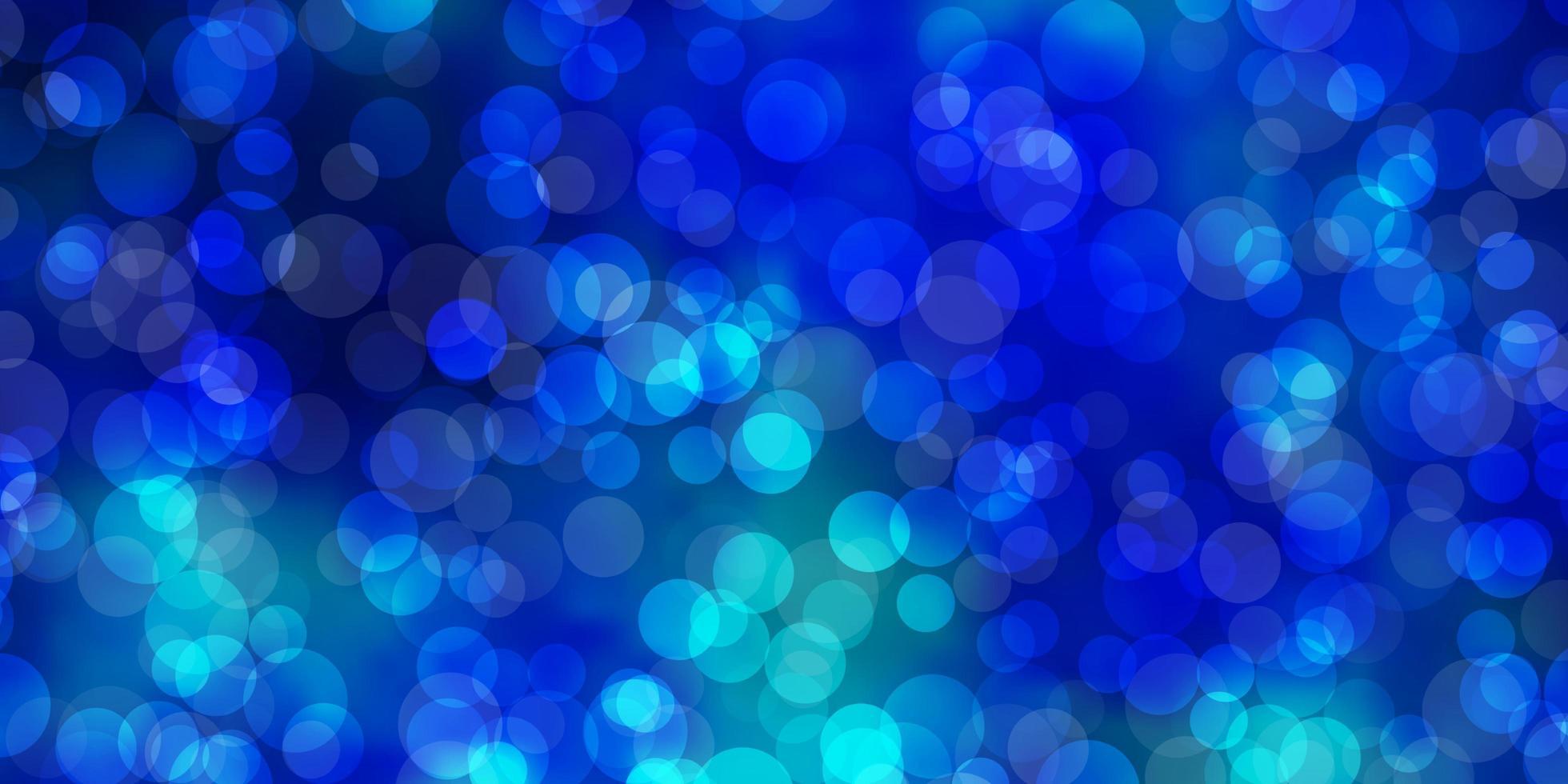 fond de vecteur bleu clair avec des bulles.