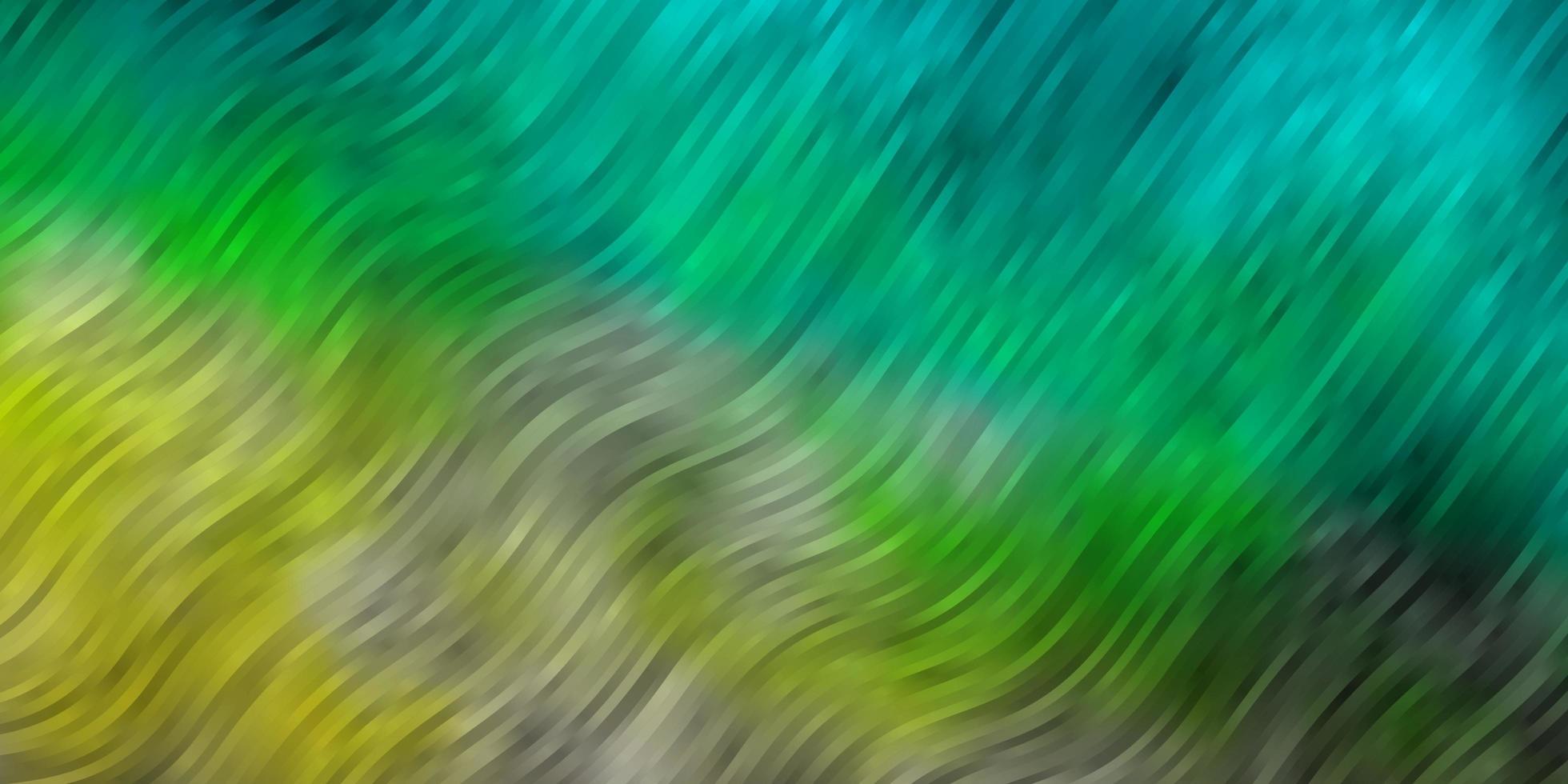 fond de vecteur bleu clair, vert avec des arcs.