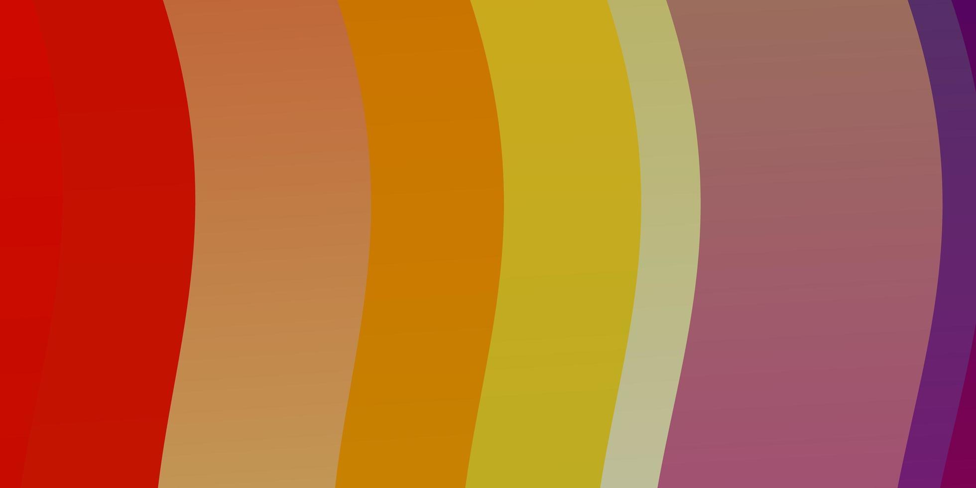 disposition de vecteur multicolore léger avec arc de cercle.