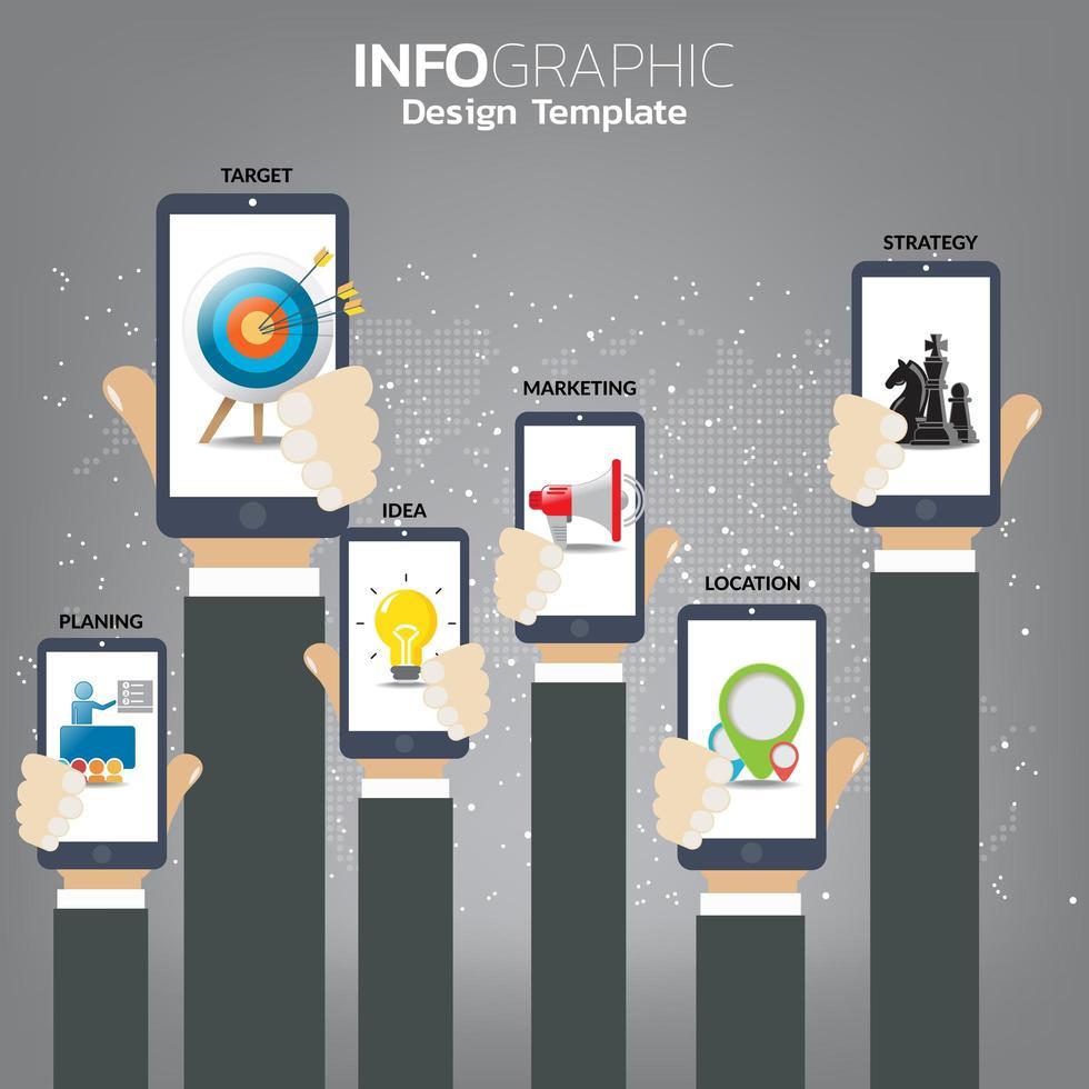 concept de démarrage d'entreprise pour page Web, bannière, présentation, médias sociaux. vecteur