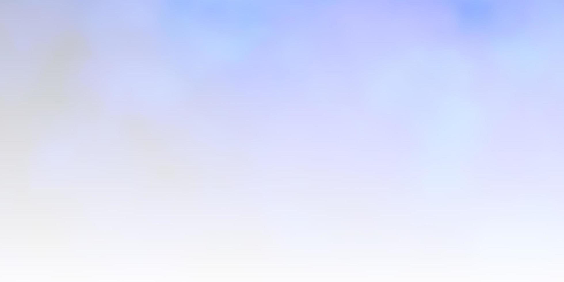 toile de fond de vecteur bleu clair avec cumulus.