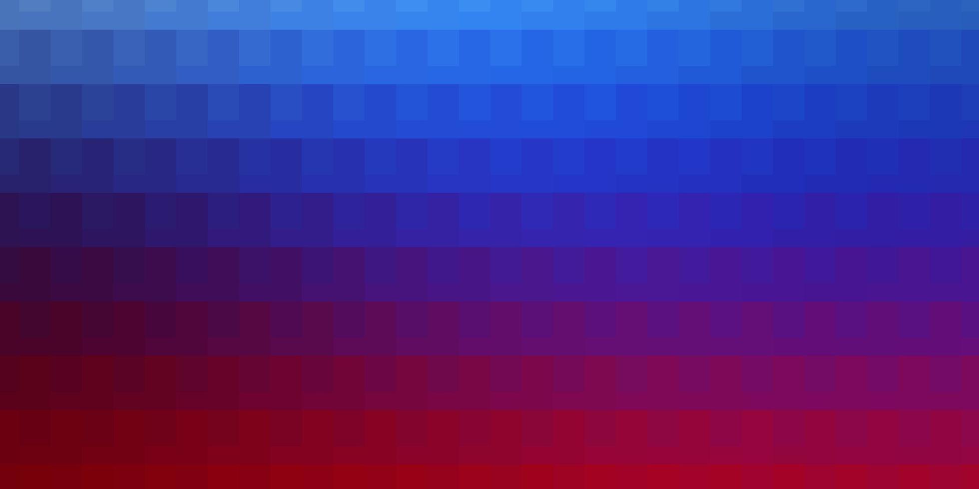 fond de vecteur bleu clair, rouge avec des rectangles.