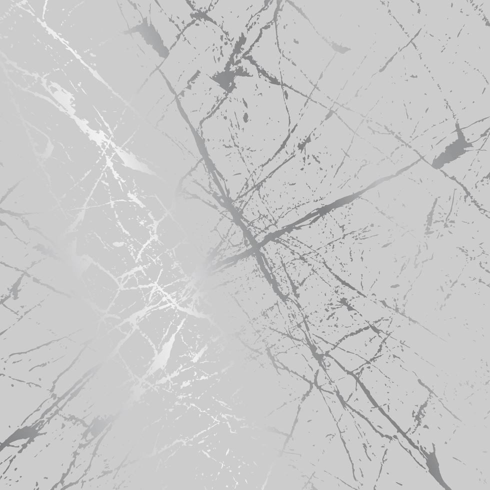taches d & # 39; éclaboussures d & # 39; argent sur fond luxueux gris et moderne, illustration vectorielle vecteur
