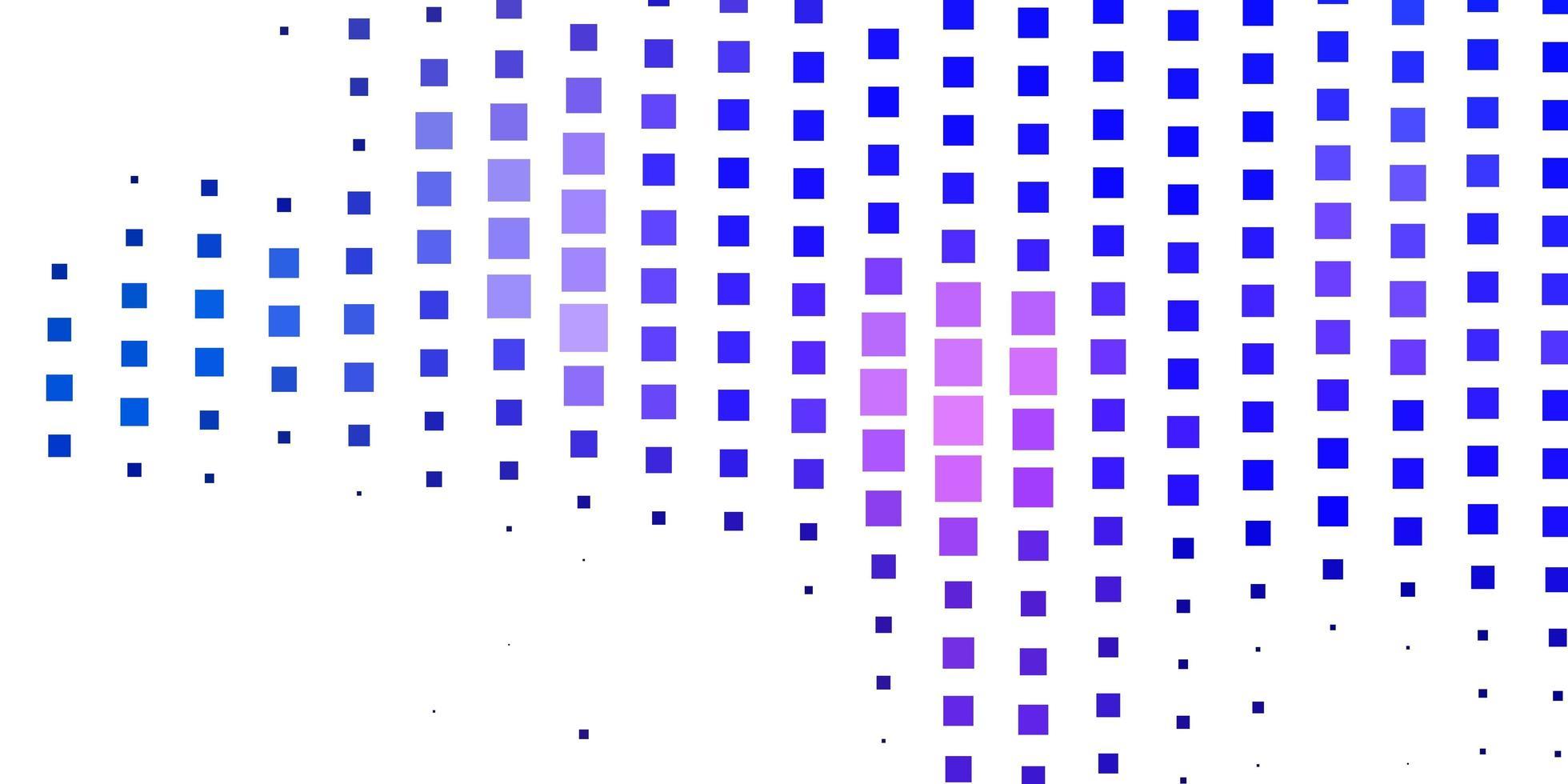 mise en page de vecteur rose foncé, bleu avec des lignes, des rectangles.