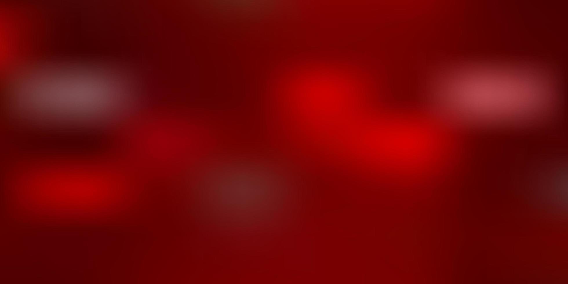 mise en page floue de vecteur rouge clair.